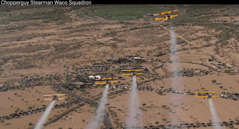 Formation Flying Lafayette Escadrille d' Arizona   Captain