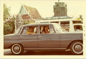 Bann our driver - Cambodia 1972-6