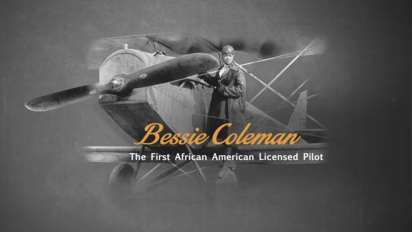 BESSIE COLEMAN, AVIATRIX by Cheryl Walker
